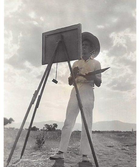 Fotografía Pablo Palazuelo 1942-La Peraleda