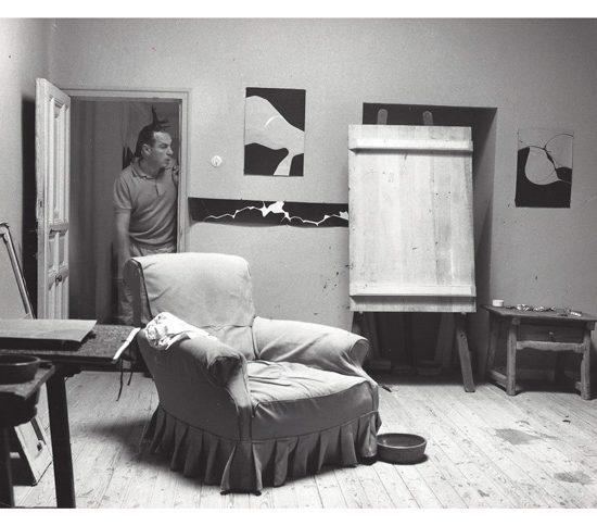 Fotografía Pablo Palazuelo 1963-La Peraleda