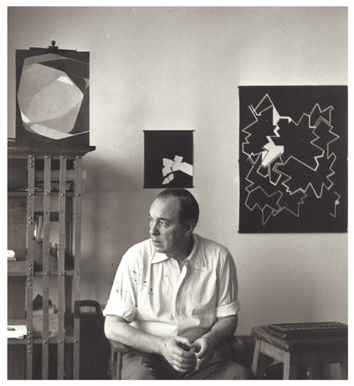 Fotografía Pablo Palazuelo 1970-García de Paredes