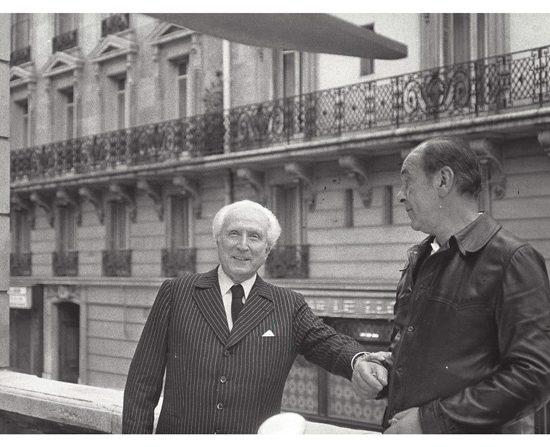 Fotografía Pablo Palazuelo 1978-Paris Aime Maeght