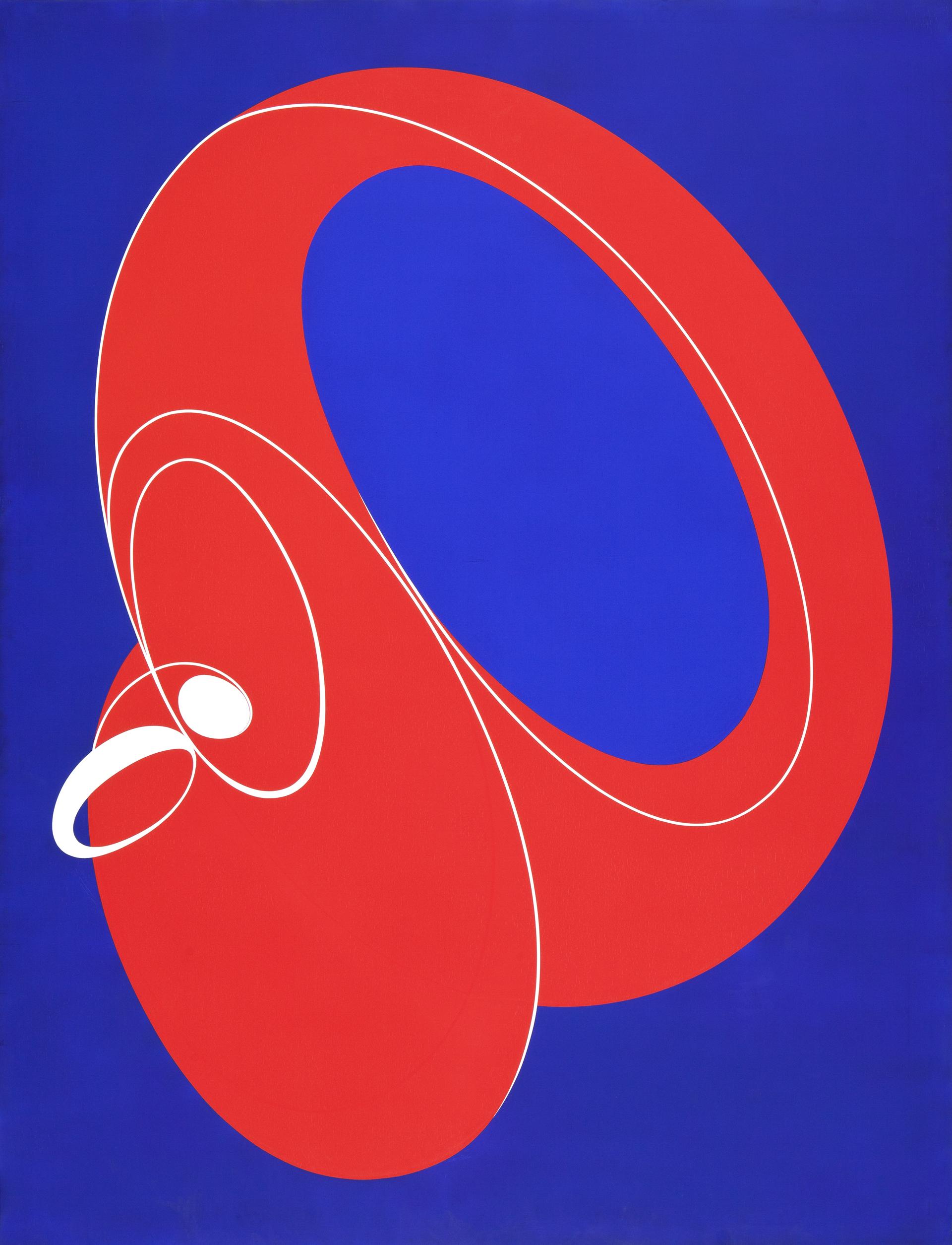 """Pintura """"Dream V"""" de Pablo Palazuelo. Óleo sobre lienzo. 2004"""