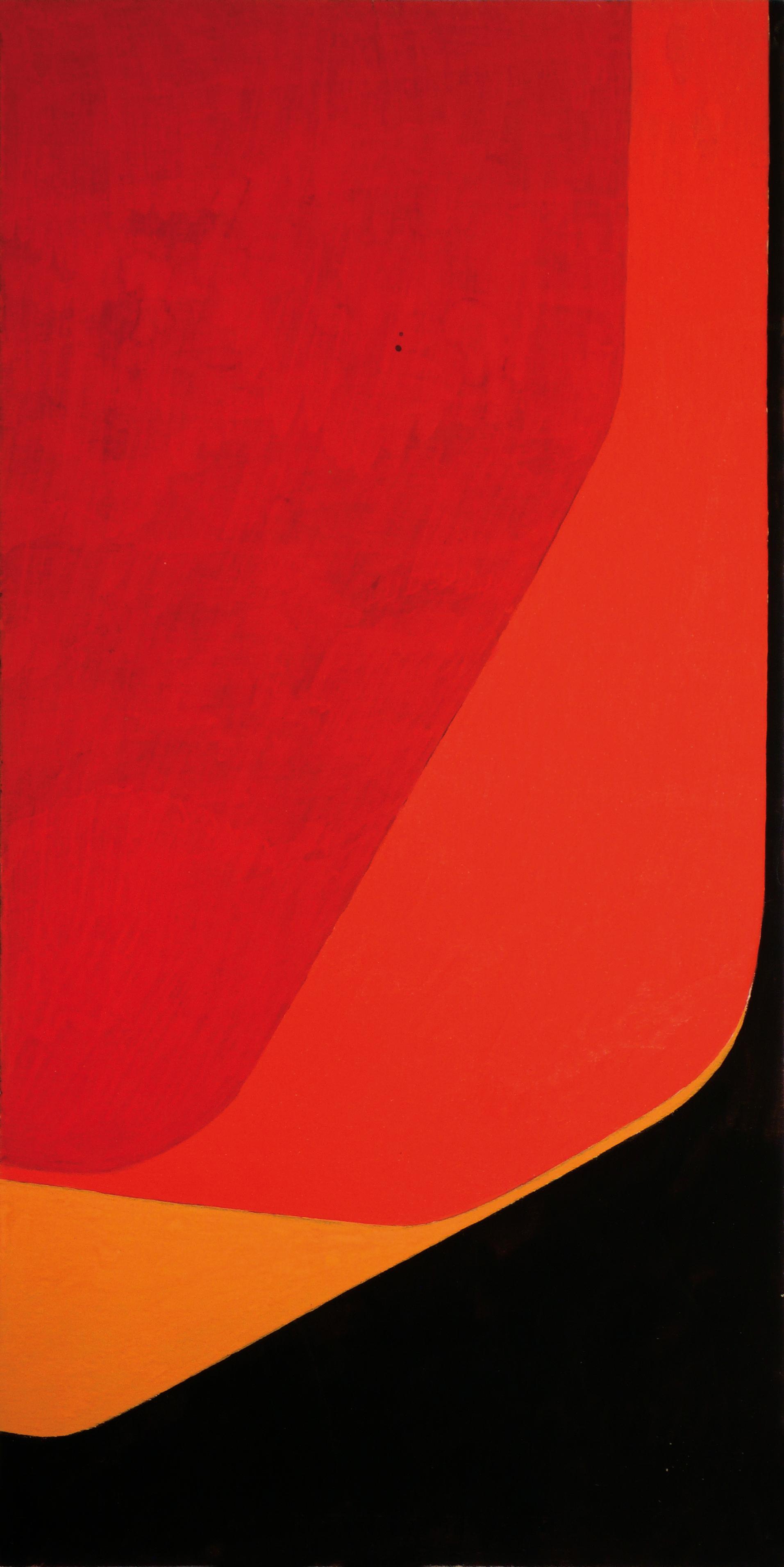 """Pintura """"Sin título"""" de Pablo Palazuelo. Gouache sobre papel. c.1965"""
