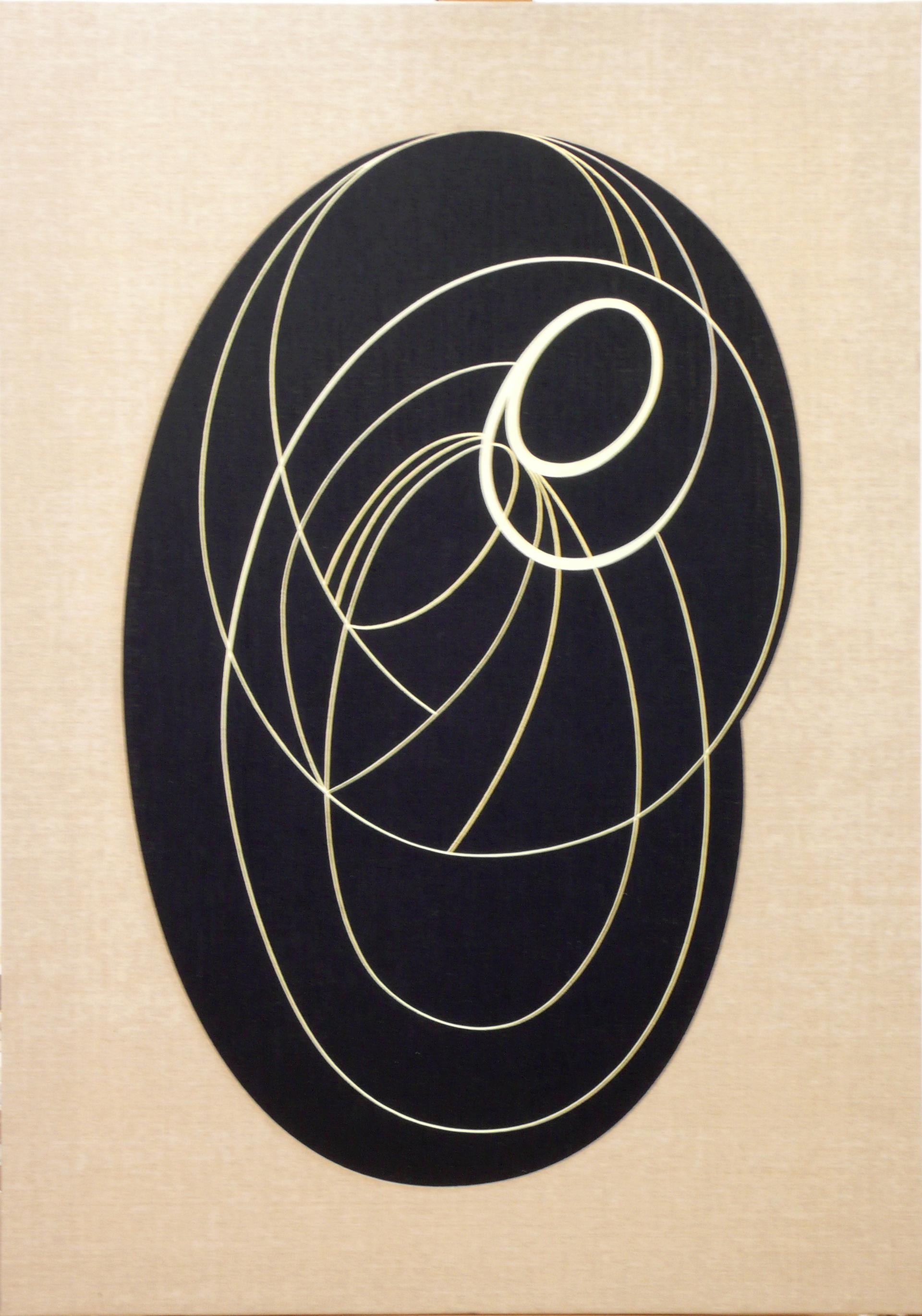 """Pintura """"Sin título"""" de Pablo Palazuelo. Óleo sobre lienzo. c.2003"""