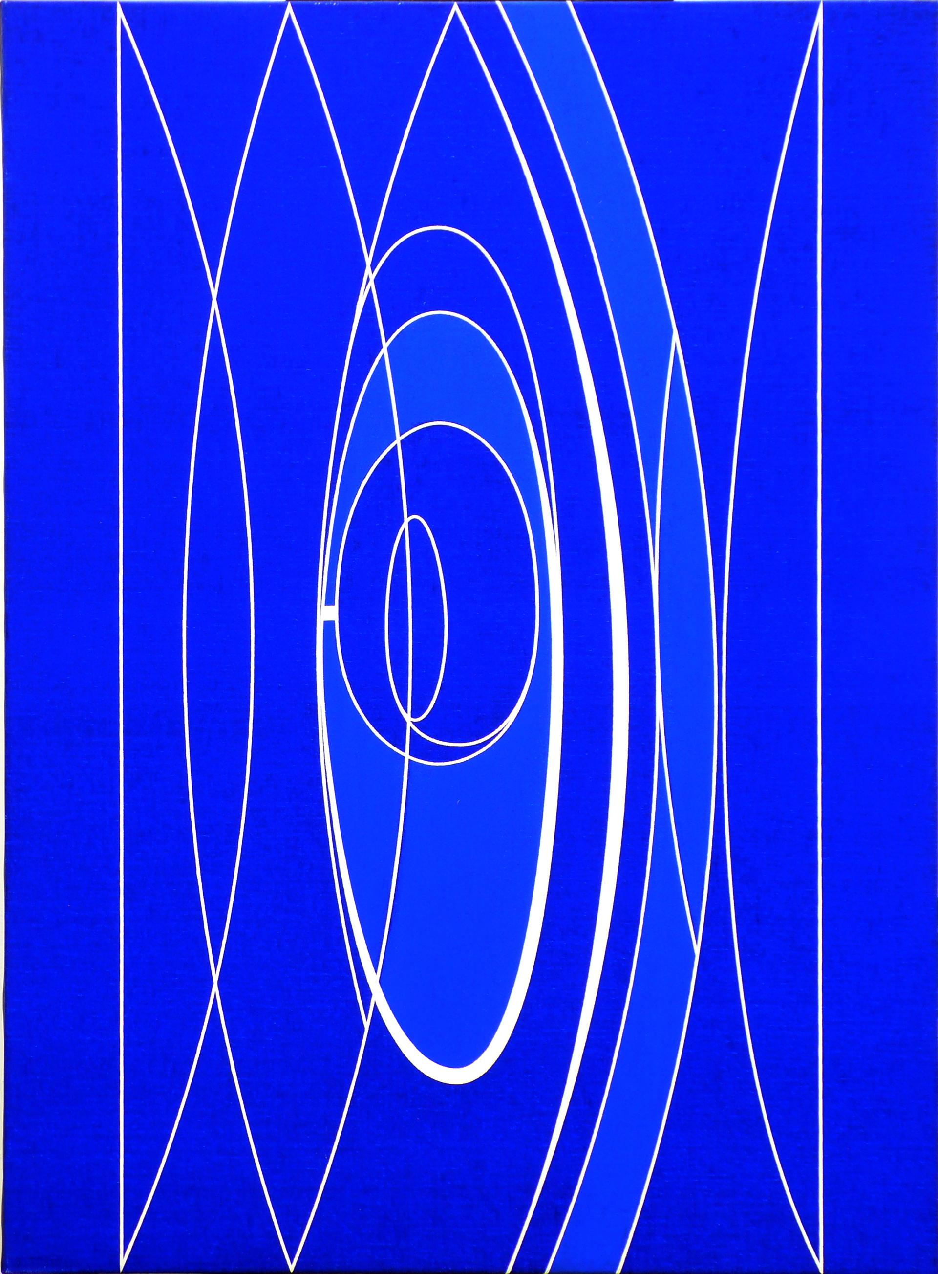"""Dibujo """"Diferencias I"""" de Pablo Palazuelo. Lápiz sobre papel. 1987"""