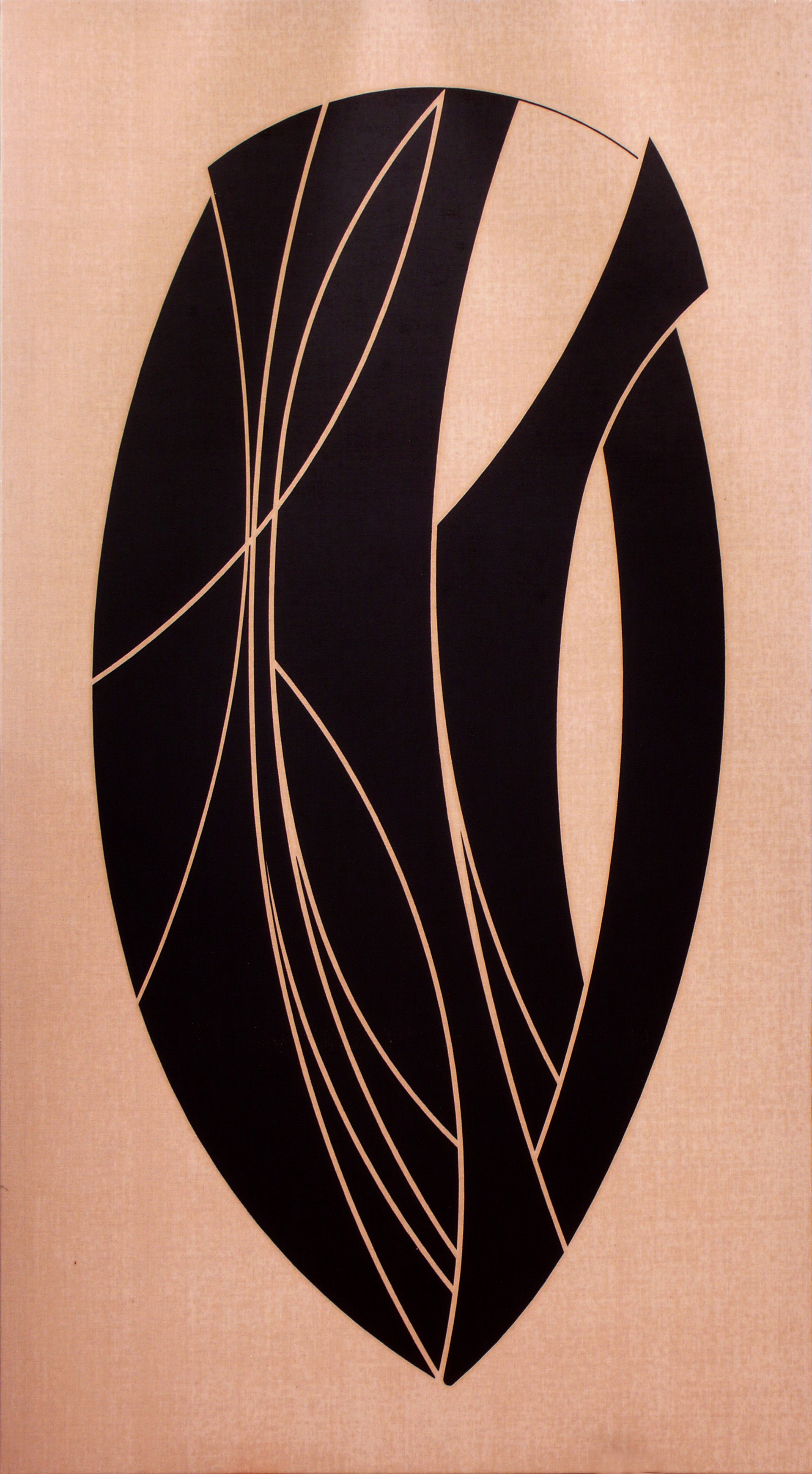 "Pintura ""Ramo"" de Pablo Palazuelo. Óleo sobre Lienzo. 2004"