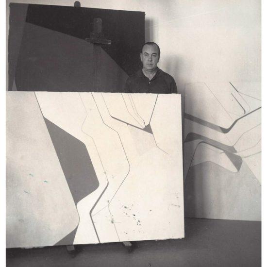 Fotografía Pablo Palazuelo 1969-Garcia de Paredes