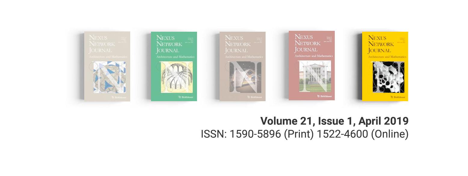 Nexus Network Journal Volume 21, Issue 1, April 2019