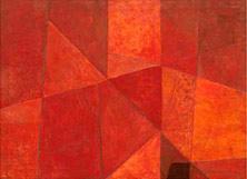 Pablo Palazuelo. FOUGUE. Pintura. Óleo sobre lienzo. 1949. 75 x 100 cm