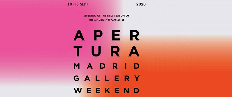 Apertura Madrid Gallery Weekend 2020